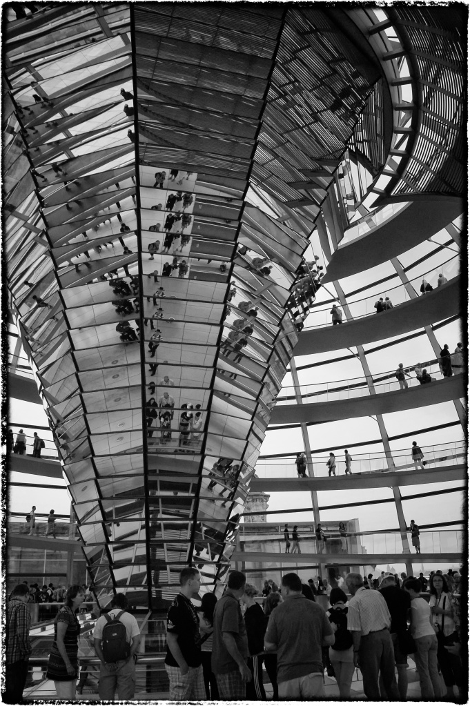 The Dome on The Reichstag Building