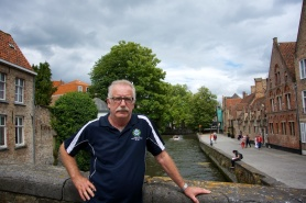 Lance in Bruges.