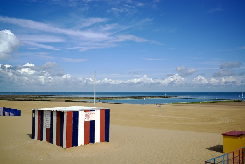 There were bright blue skies when I arrived in Margate, that was soon to change!
