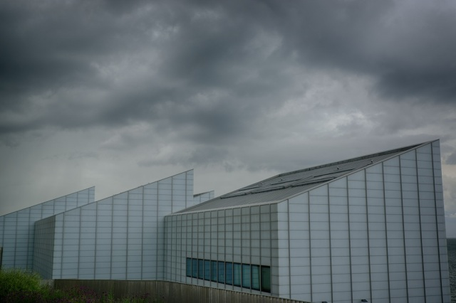 This is The Turner Contemporary from the back, I took this shot from this angle to capture the menacing clouds that had began to appear