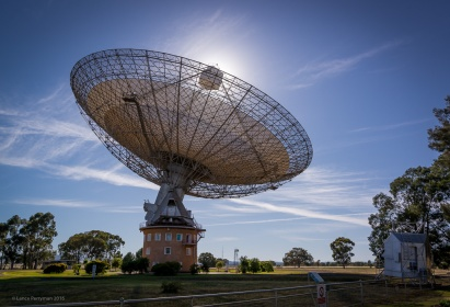 The Parkes Observatory,a.k.a.'The Dish'