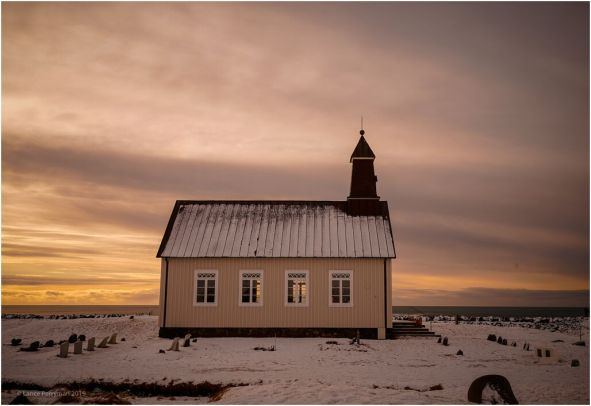 Strandarkirkja is a Lutheran parish church in Selvogur, on the southern coast of Iceland. The church, rising from the coast and pointing its tower towards the heavens, has been a beacon for those travelling at sea