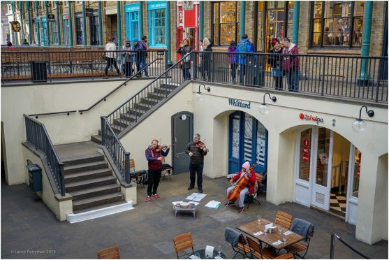 Lunchtime Concert at Covent Garden