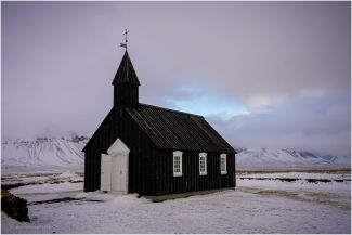 This beautiful little church at Budir on the Snaefellsbaer Peninsular.