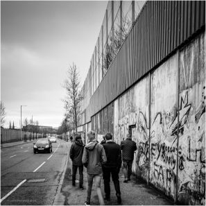 This wall sits between the Loyalist Shankill Road and the Irish Republican Falls Road. Tensions between the two streets have existed since the 1800s, and the Troubles saw a rise in violence in this already violent area.