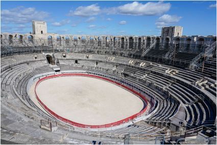 Built in the first century AD, could hold more than 20,000 spectators.