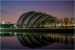 The SEC Armadillo was originally known as The Clyde Auditorium, it was completed in 2000 and had already received the nickname The Armadillo.