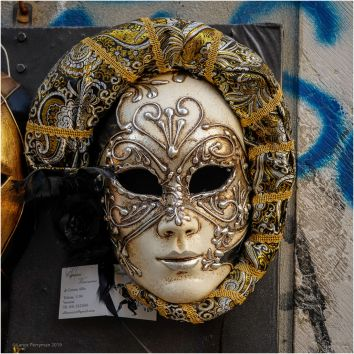 I had to put a picture of a mask in the collection.