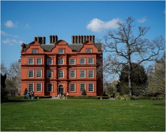 Kew Palace is a British royal palace in Kew Gardens on the banks of the Thames up river from London.