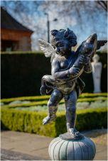 Queen's Garden Statue.