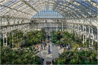 The largest glasshouse in the world.